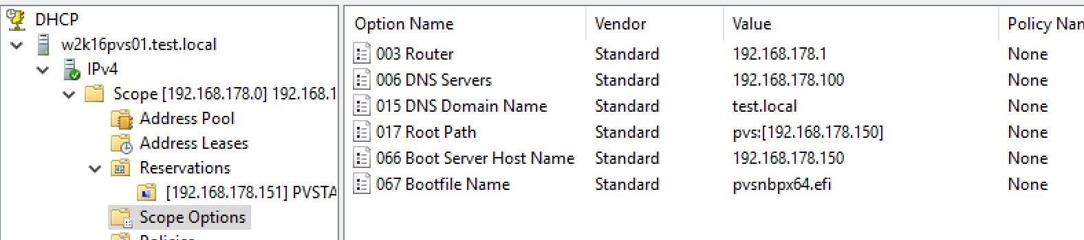 Citrix Provisioning Services Zielsysteme in Hyper-V VMs ohne